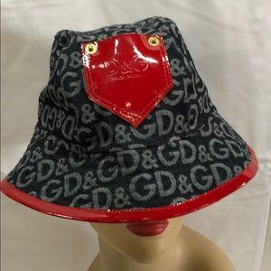 D&G DOLCE&GABBANA BUCKET HAT